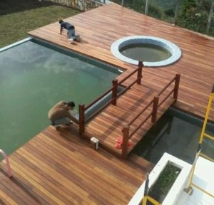 wood deck builders refinishing restoration miami fl